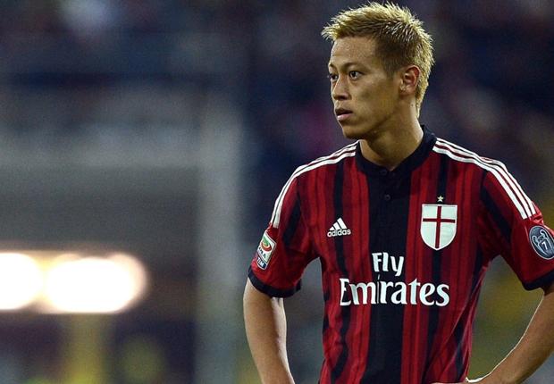 新しい形を模索するミラン所属のサッカー日本代表のエース本田