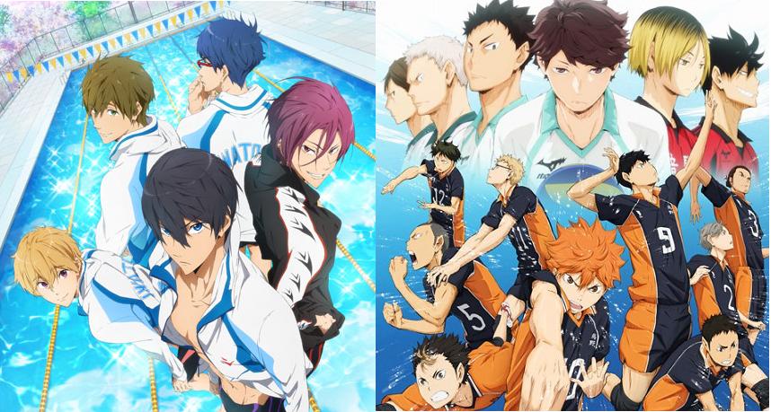 いま最も熱いスポーツアニメ!「ハイキュー!!」「Free!」って知ってる?