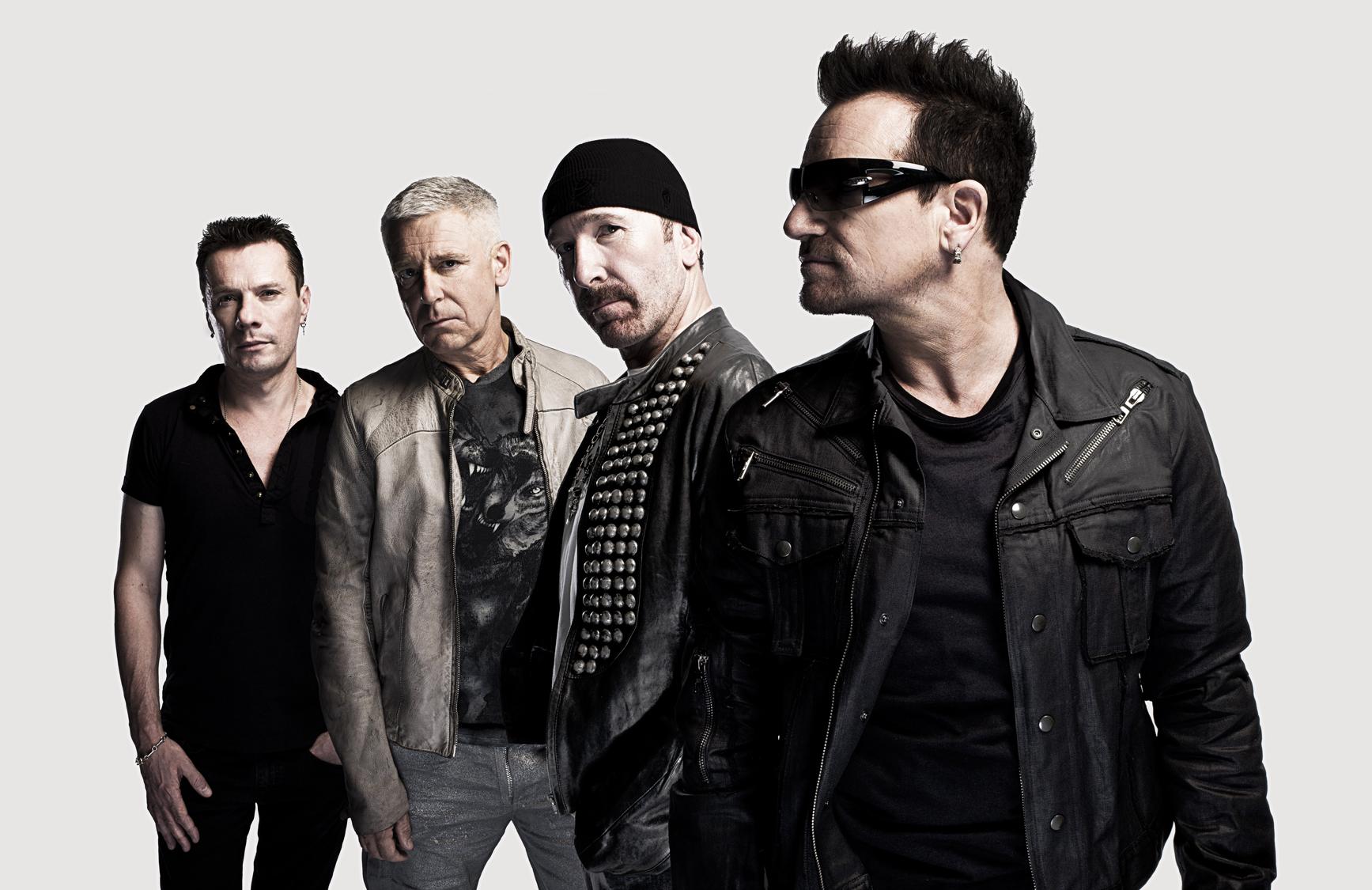 ロックの殿堂入りを果たした伝説のロックスターバンド『 U2 』