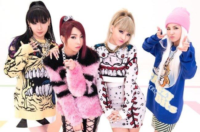 韓国アイドルの中で一番女子に人気あるガールクラッシュグループ2NE1!