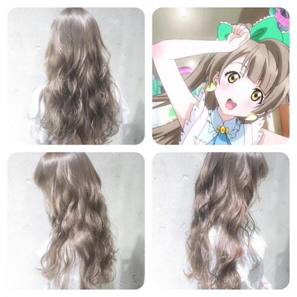 ことりベージュで話題!この春は好きなアニメキャラの髪色に挑戦!