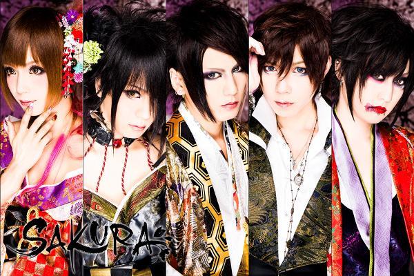 日本の美とヴィジュアル系の融合!SAKURAってどんなバンドグループ?