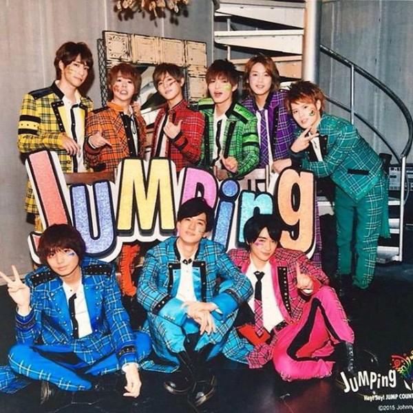Hey! Say! JUMPメンバーの担当カラーを確認しよう!