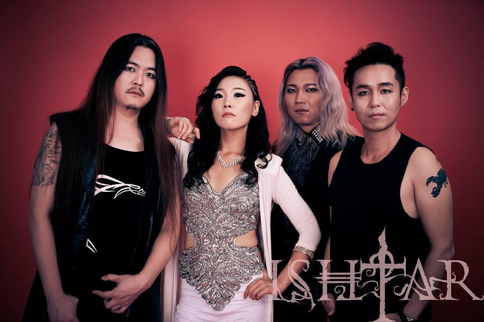 韓国最高峰のシンフォニックメタルバンドISHTAR来日!圧倒的ソプラノヴォーカルに注目!
