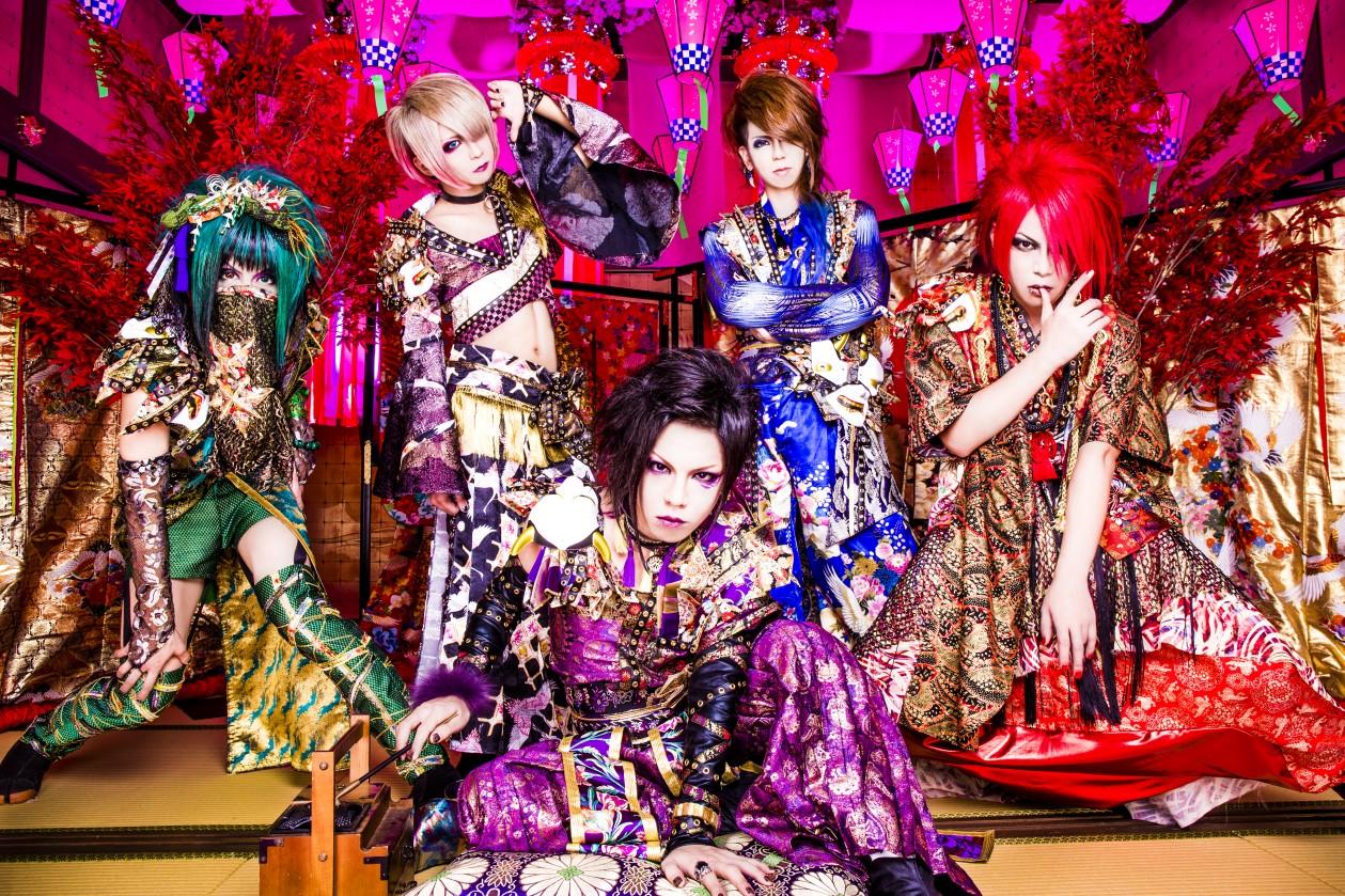 和とハードロックの融合バンド・己龍の人気曲ベスト3!