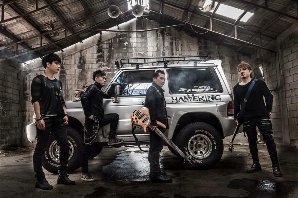 日韓メタルバンドの共演!韓国実力派バンドHAMMERINGがスプリット来日公演