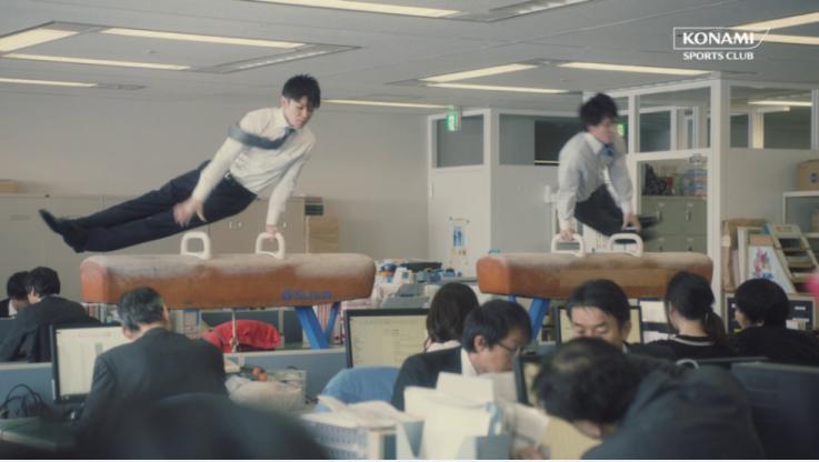 内村航平&加藤凌平がコナミスポーツクラブのCM でユーモラスな姿を披露!