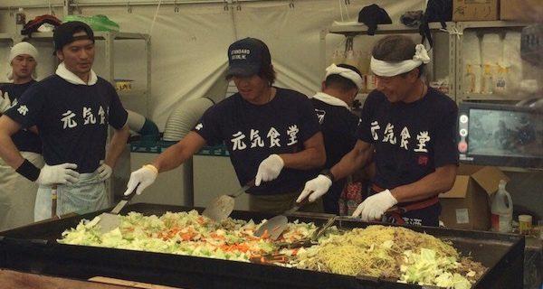 石原軍団×ジャニーズが熊本支援で炊き出しに。キムタク「復興のお手伝いを…」