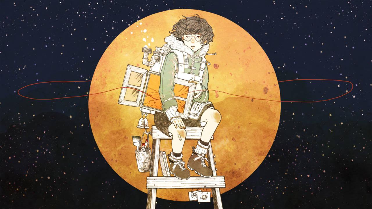 土星の窓辺