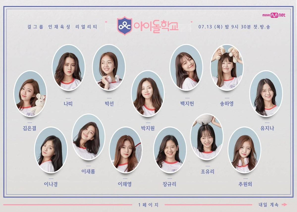 【随時更新】韓国「アイドル学校」気になる41人のメンバーを紹介💘